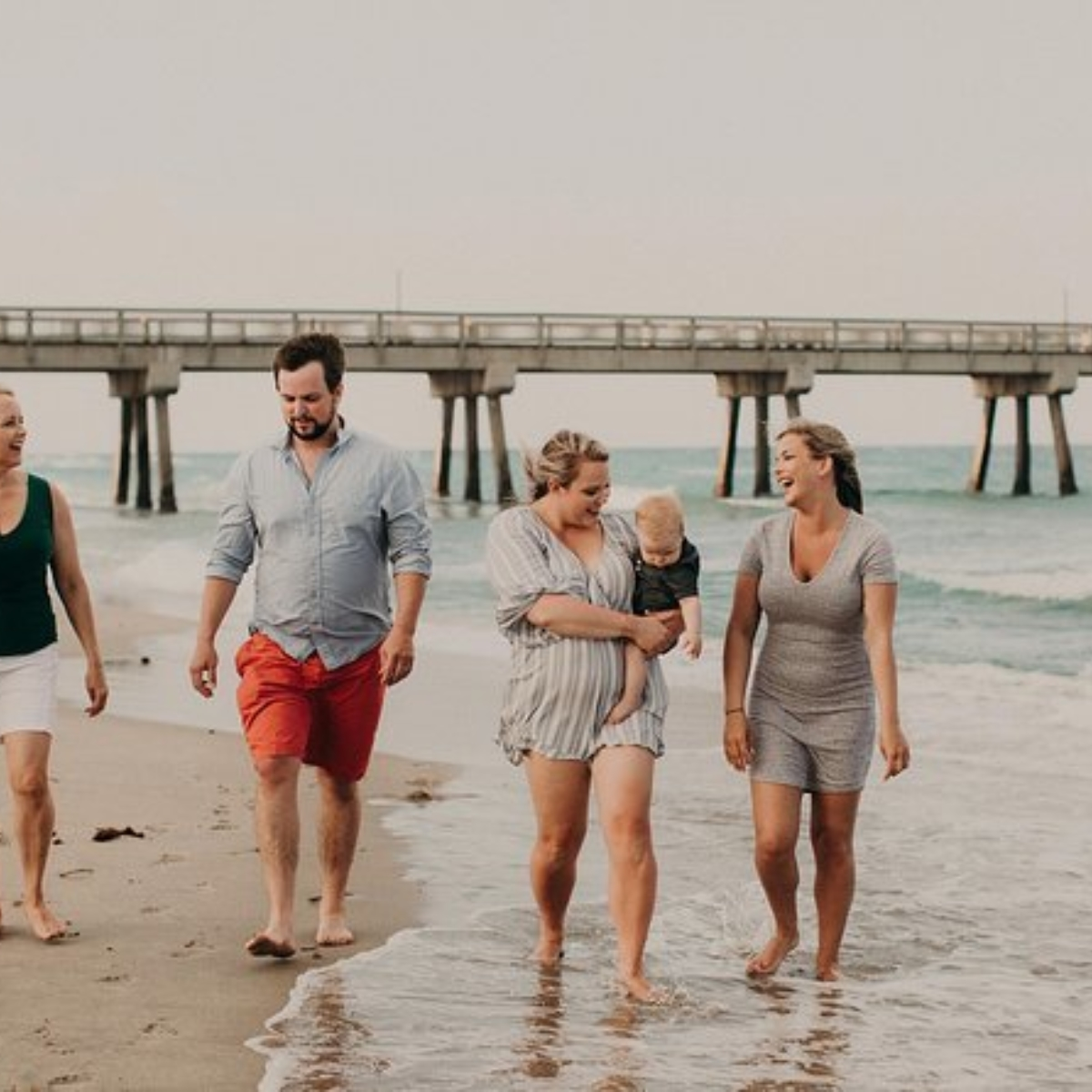 90 Minute Private Vacation Photography Session with Photographer in Ft Lauderdale Images