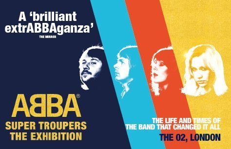 ABBA Super Troupers, The Exhibition Preview Image