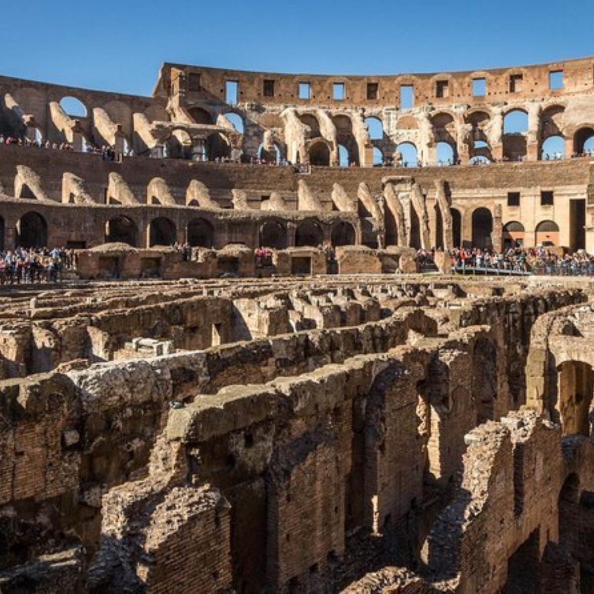 Ancient Rome and Colosseum Tour: Underground Chambers, Arena and Upper Tier Images