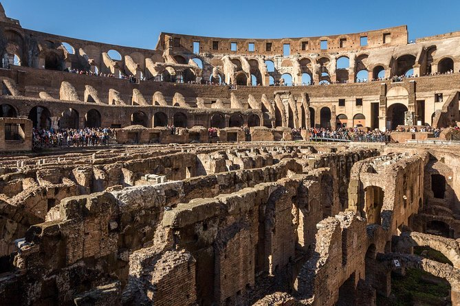 Ancient Rome and Colosseum Tour: Underground Chambers, Arena and Upper Tier Preview Image