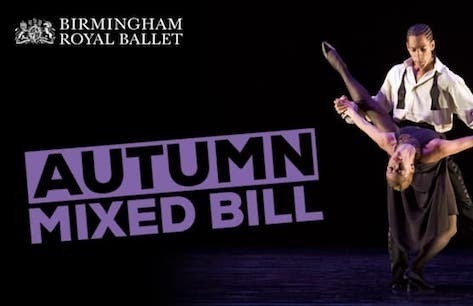Birmingham Royal Ballet: Autumn 2019 Mixed Bill Preview Image