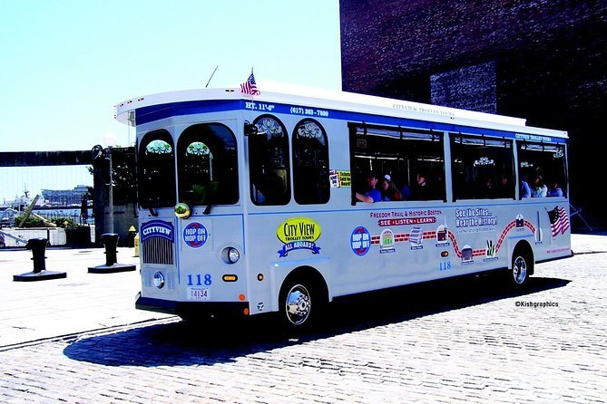 Boston Hop-on Hop-off Trolley Tour Preview Image