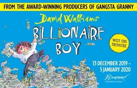 David Walliams' Billionaire Boy Preview Image