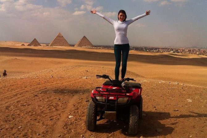 Desert Safari by Quad Bike Around Pyramids Preview Image