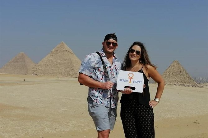 Full-day tour Giza pyramids and Egyptian Museum and bazaar Include camel ride, Lunch Preview Image