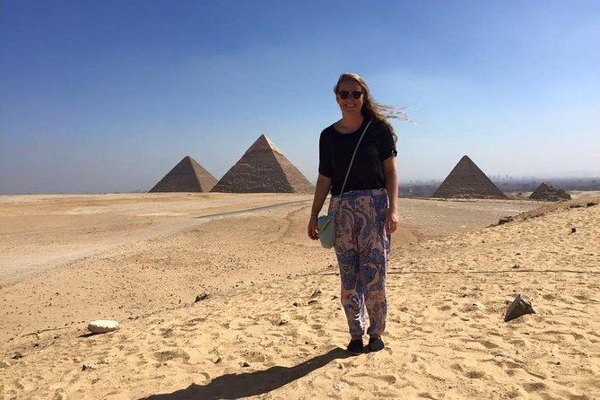 Giza pyramids sphinx Egyptian museum lunch entry fees including day tour Preview Image