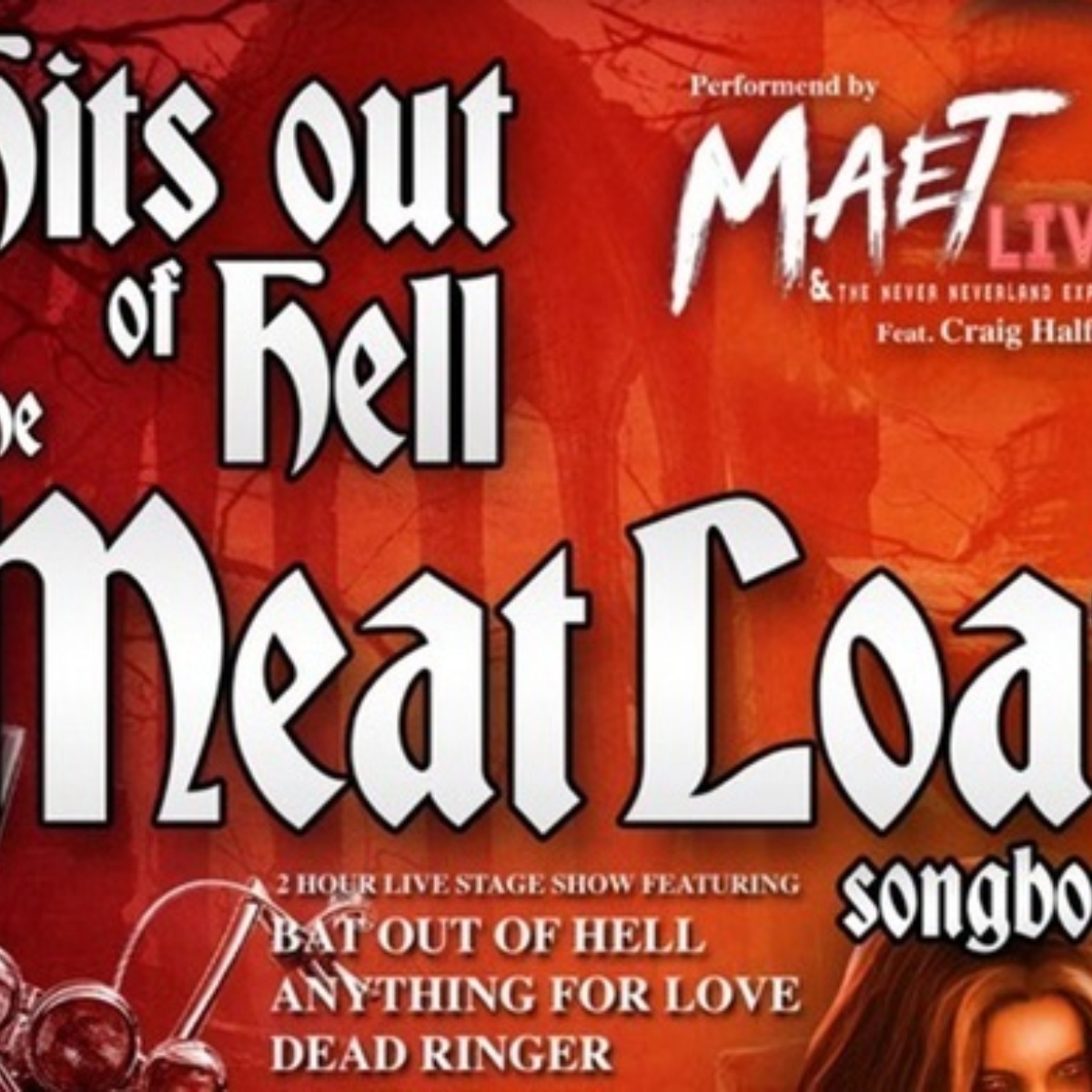 Hits Out Of Hell – The Meat Loaf Songbook Images