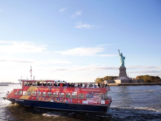 Hop-On Hop-Off New York Ferry Cruises 1-day - Ferry Preview Image