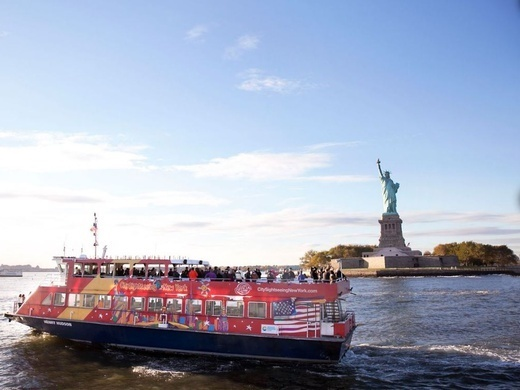 Hop-On Hop-Off New York Ferry Cruises FreeStyle Cruise: 1-day ferry + 1 attraction Preview Image