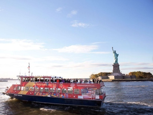 Hop-On Hop-Off New York Ferry Cruises FreeStyle Cruise: 1-day ferry + 3 attractions Preview Image