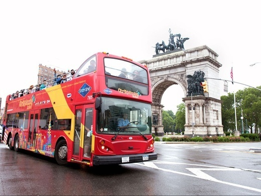 Hop-On Hop-Off Uptown + Downtown New York 2 days: 2 routes + 1 attraction Preview Image