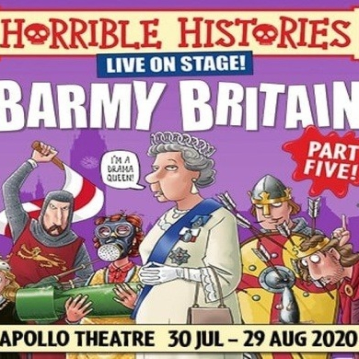 Horrible Histories: Barmy Britain Pt 5 Images