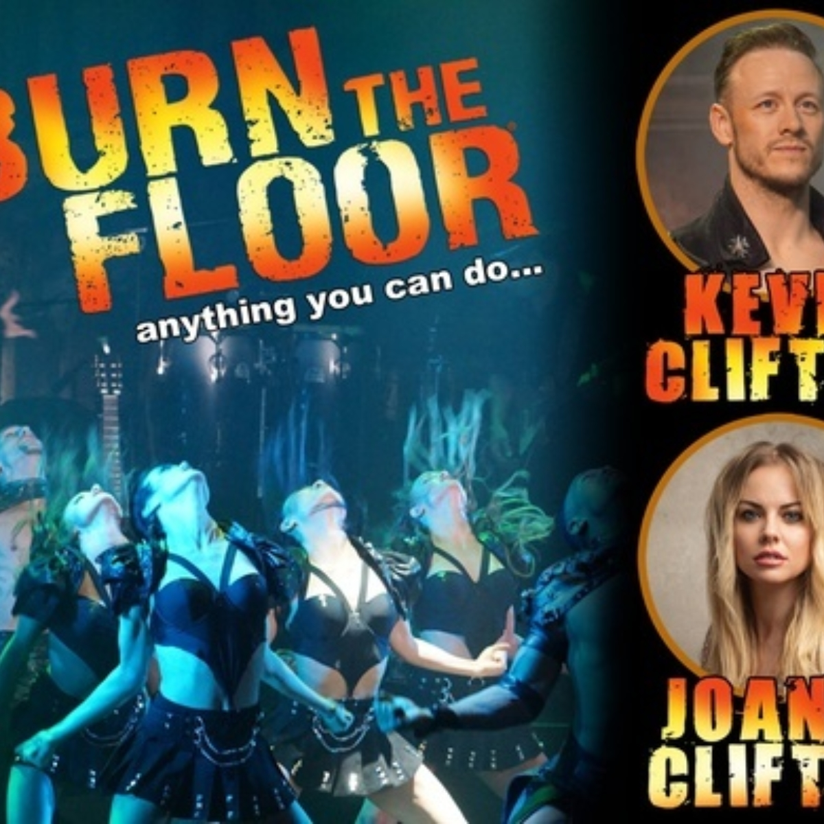 Kevin & Joanne Clifton in Burn the Floor Images