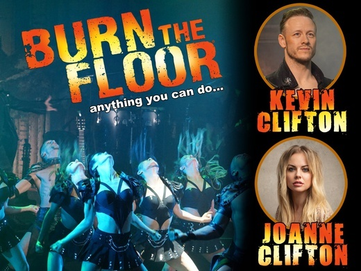 Kevin & Joanne Clifton in Burn the Floor Preview Image