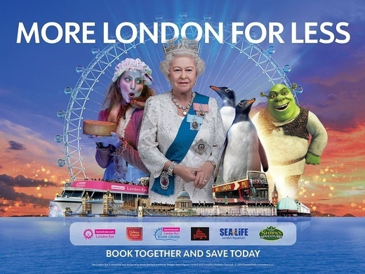 Merlin's Magical London: 3 attractions in 1 – The lastminute.com London Eye + Madame Tussauds + The London Dungeon Preview Image