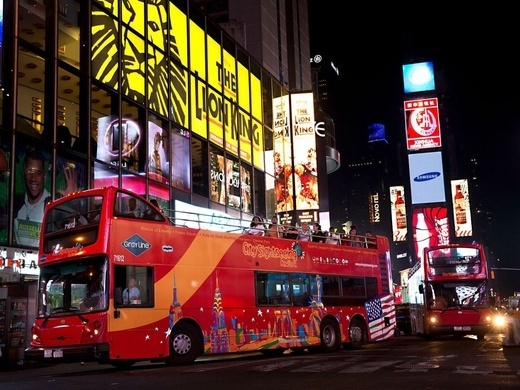 New York Night Bus Tour Night Tour - 1.5 Hours Preview Image