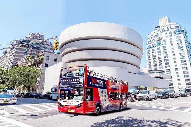 New York Sightseeing Double Decker Bus Tours plus NYC Liberty Cruise Preview Image