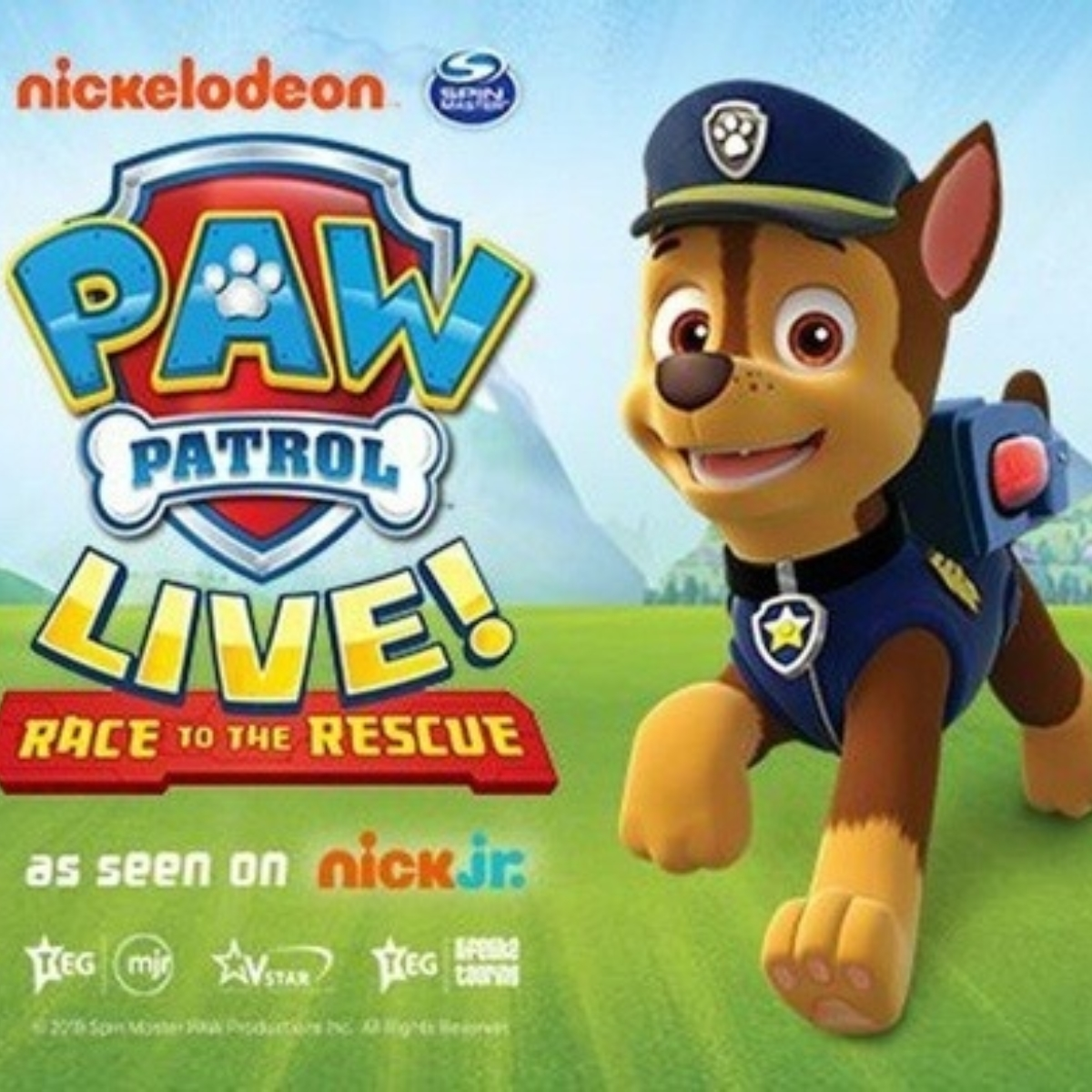 PAW PATROL LIVE! - Race to the Rescue (Birmingham) Images