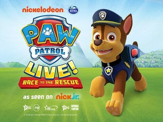 PAW PATROL LIVE! - Race to the Rescue (Glasgow) Preview Image