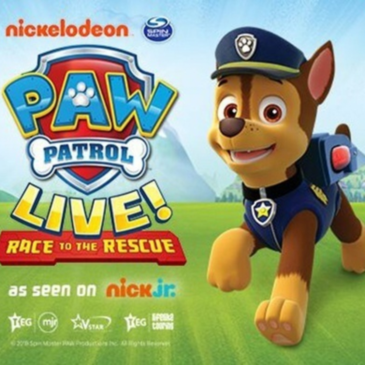 PAW PATROL LIVE! - Race to the Rescue (London Wembley) Images
