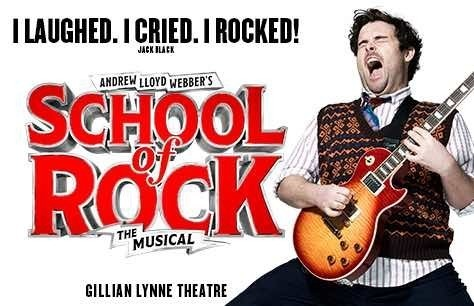 School of Rock and Dinner at Fire & Stone - Covent Garden Preview Image