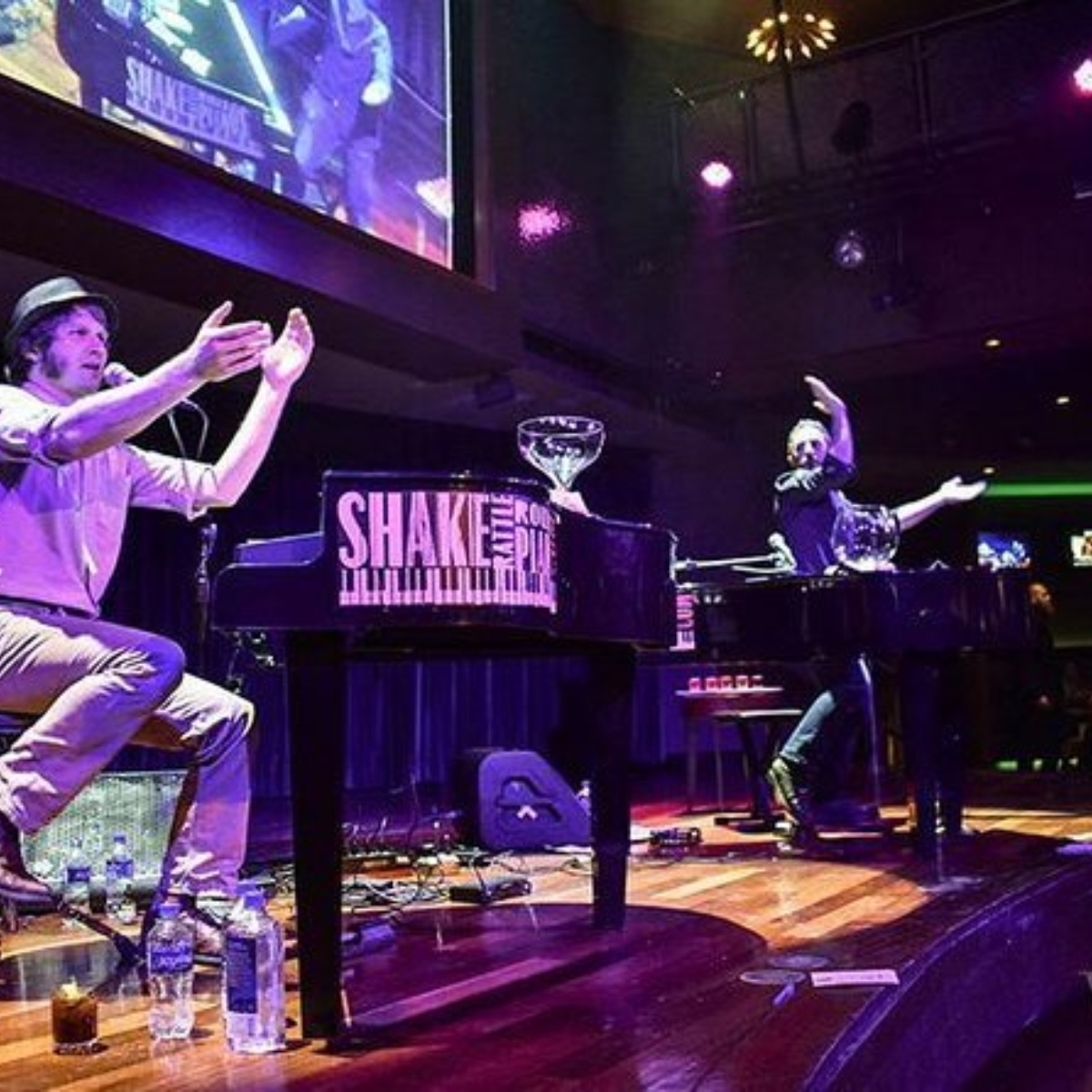 Shake Rattle & Roll Dueling Pianos plus Times Square Dining Experience Saturday Images