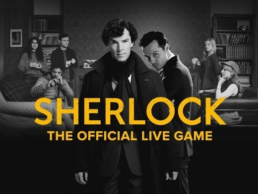 Sherlock: The Official Live Game Preview Image