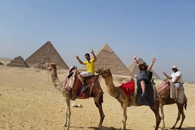Sunset camel ride at the pyramids and pyramids sound and light show Preview Image