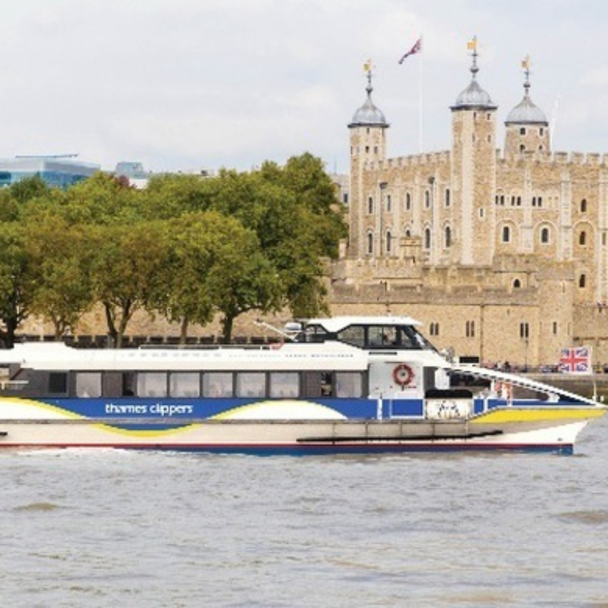 Thames Clippers River Tour Images
