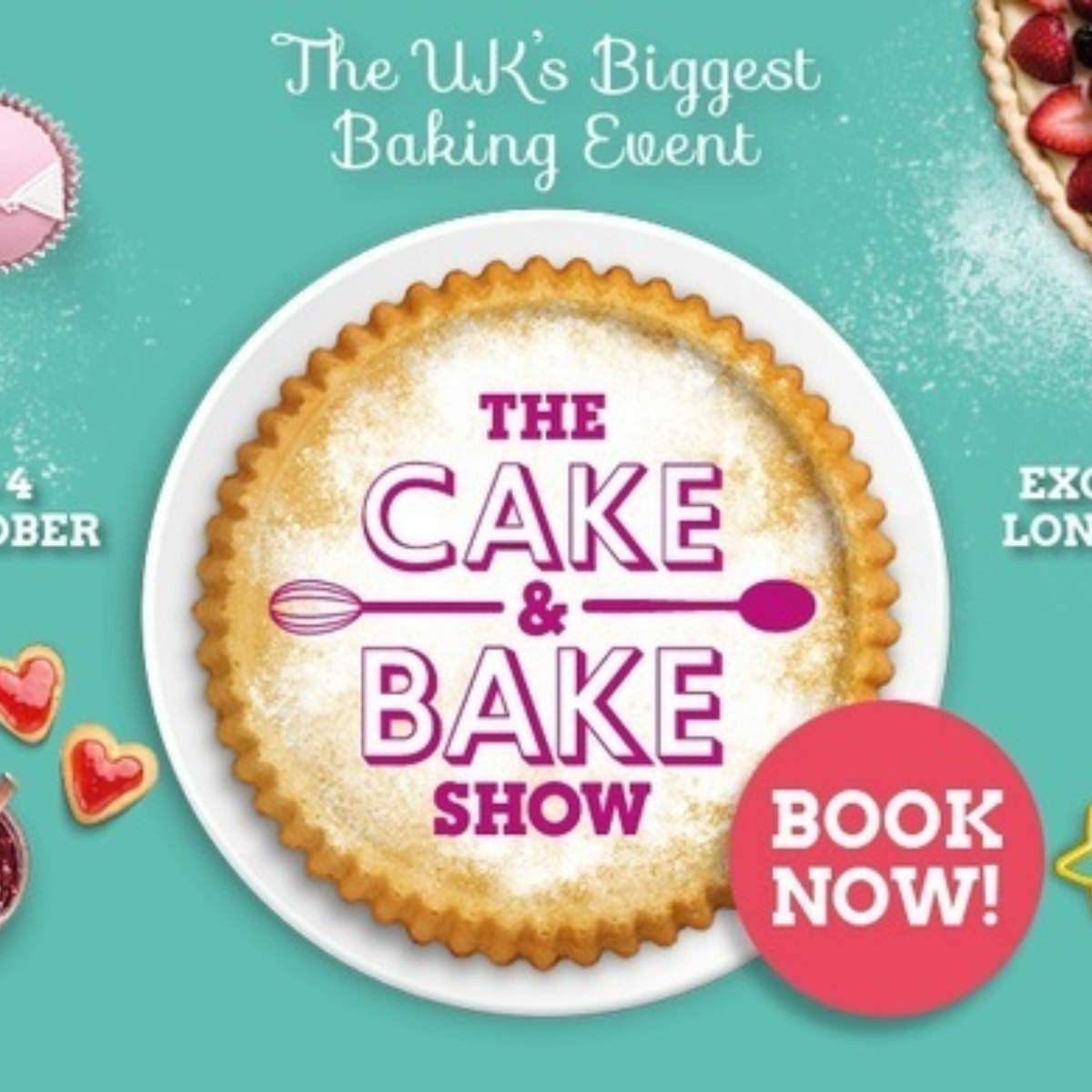 The Cake & Bake Show 2020 Images