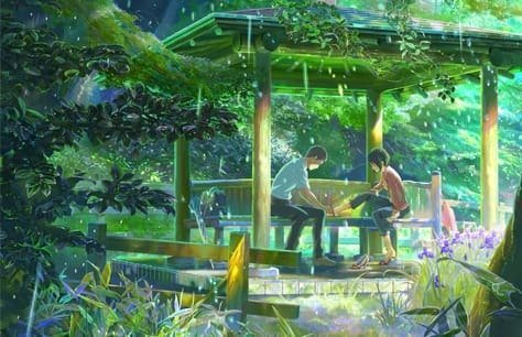 The Garden of Words Preview Image