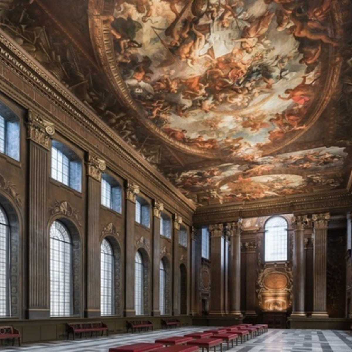 The Painted Hall Images