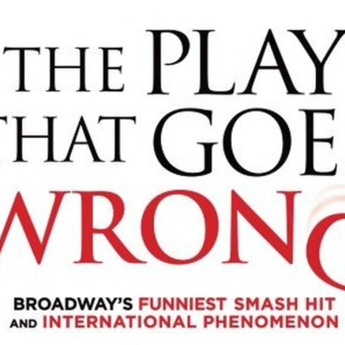 The Play That Goes Wrong (New York) Images