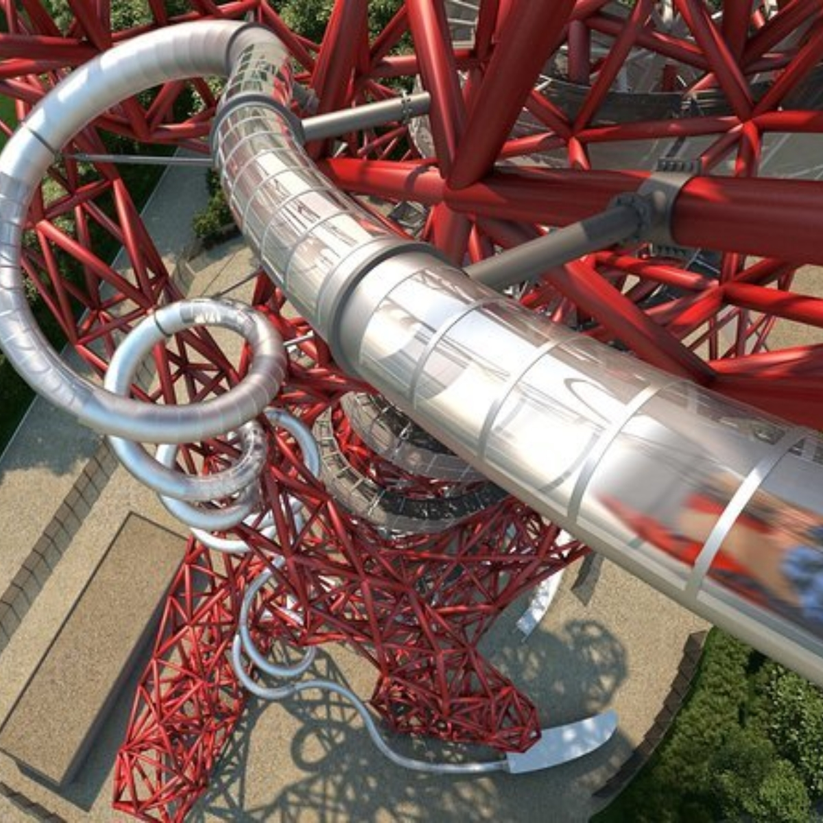 The Slide at the ArcelorMittal Orbit Images