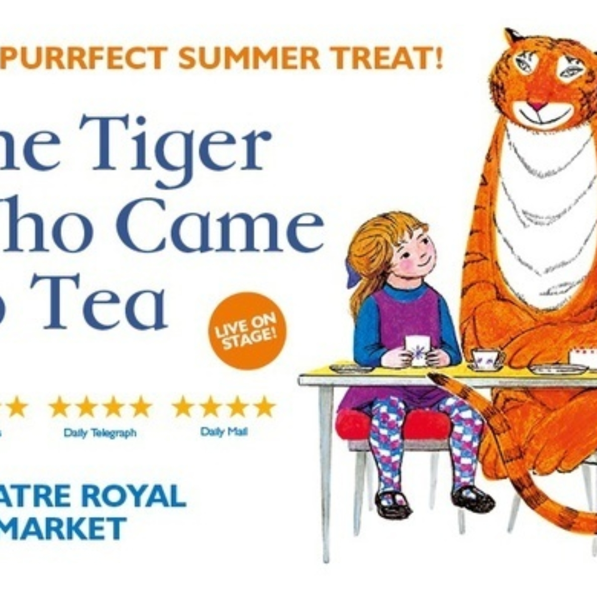 The Tiger Who Came To Tea Images