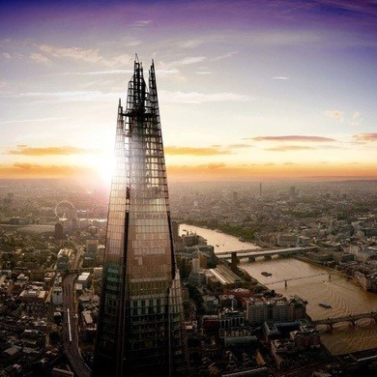 The View from The Shard Images