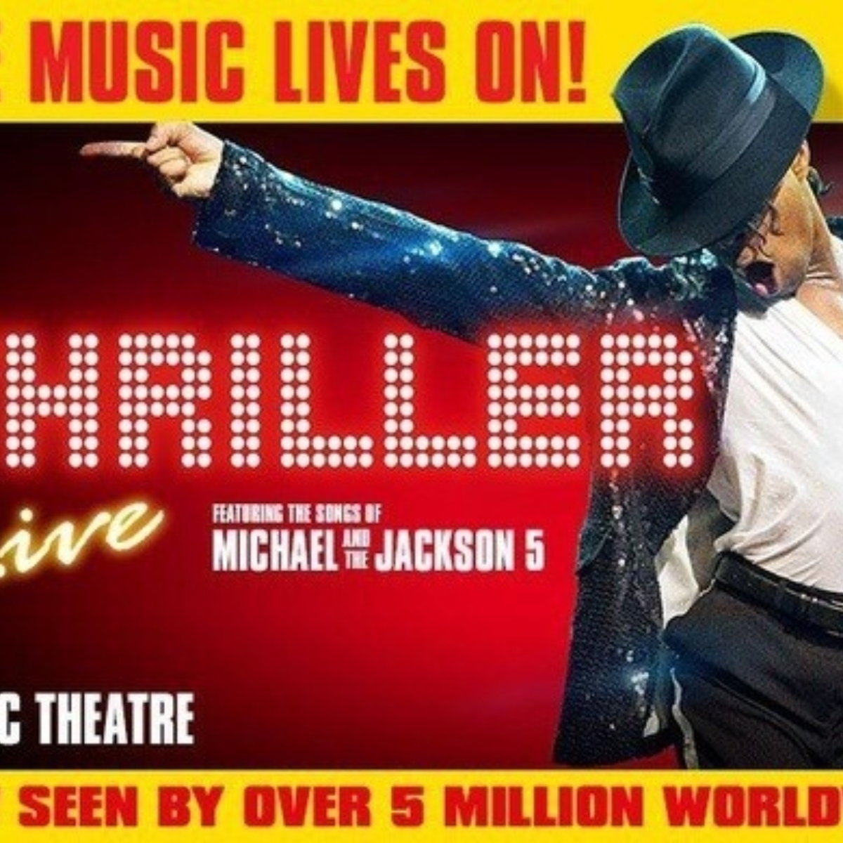 Thriller Live and a Free Meal at Planet Hollywood Images